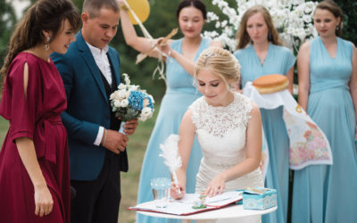 Преимущества двухкамерной видеосъёмки свадьбы.